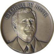 Official 2001 George W Bush President Presidential Inauguration Medal Bronze
