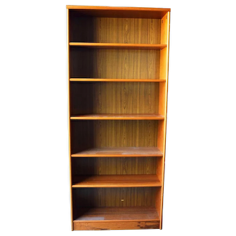 Mid Century Modern Danish Teak Bookcase/Bookshelf Made in Denmark - Local Pickup Only