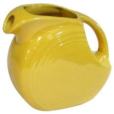 Fiesta Original Yellow Disc Juice Pitcher