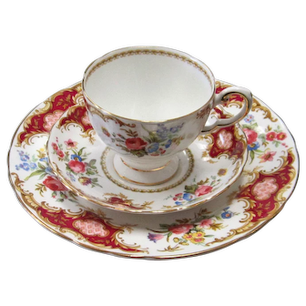 Royal Tuscan Windsor Red Luncheon / Dessert Trio