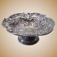 Reed & Barton Sterling Silver Les Six Fleurs Pattern Compote