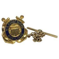 Vintage U.S. Coast Guard Auxiliary Pin