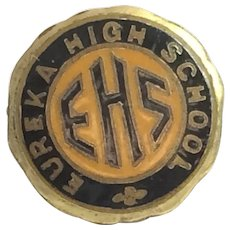 Vintage Eureka High School Pin