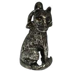 Beau Sterling Cat Charm