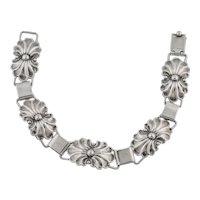 Scandinavian Silver Bracelet