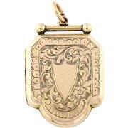 Gorgeous Victorian 9ct Gold Locket -c.1850