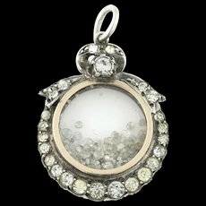 Edwardian Diamond Shaker Locket - c.1903