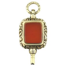 Georgian Fob Pendant 9ct Gold - c.1830