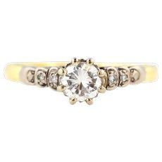 Art Deco Diamond Engagement Ring c.1920