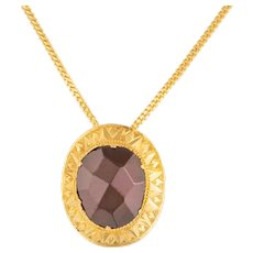 Victorian Garnet Pendant in 9ct Gold