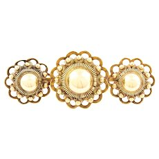 9ct Gold Victorian Revival Brooch