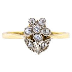 Antique Diamond Gardinetti Ring