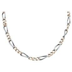 Victorian Niello Chain Necklace
