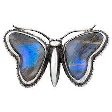 Art Deco Butterfly Wing Brooch