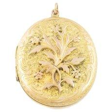 Victorian 9ct Gold Locket