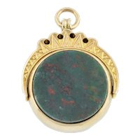 Antique Spinner Fob Pendant c.1870