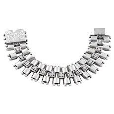"Victorian Aesthetic Book Chain Bracelet, 6.7"" (34.8g)"