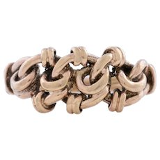 Antique 12ct Gold Lover's Knot Ring