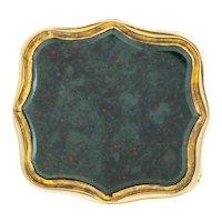 Victorian Bloodstone Wax Seal Fob Pendant