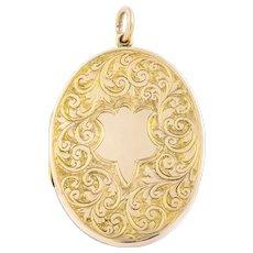 Edwardian 9ct Gold Locket