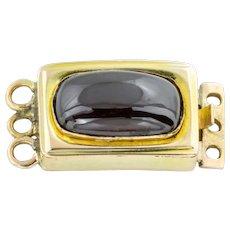 Georgian 12ct Gold Garnet Clasp (2.61ct)