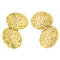 Antique 18ct Gold Cufflinks c.1876