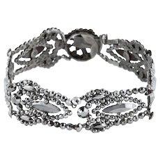 Georgian Cut Steel Bracelet c.1800