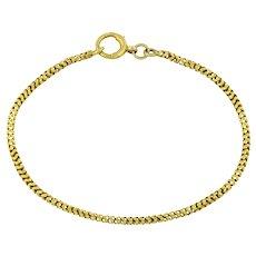 9ct Gold Victorian Snake Bracelet 4.6g