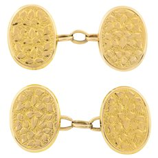 Antique 15ct Gold Cufflinks c.1896