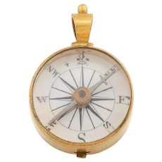 Victorian Compass Pendant