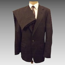 Rare C H Barclay Gray Worsted Wool Men's Suit Size 40 R