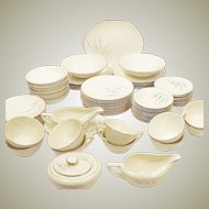 "1940's Edwin Knowles ""Fantasy"" China Set for 12"