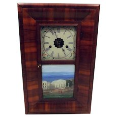 Antique E N Welch Ogee Mantle Clock  The Courthouse in St Louis