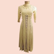 Original Handmade Edwardian Evening Dress