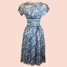 50's R K Originals Rockabilly Swing Dress