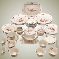 Wedgwood Fine China Chantecler 57 pc Service for 8+