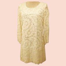60s Handmade Short Evening or Party  Dress