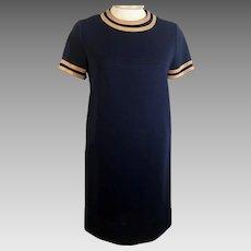 60's Vintage Dress Jonathan Logan Knit Dress
