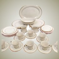 Lenox Eternal  24K Gold Fine China Set  Complete Service for 8