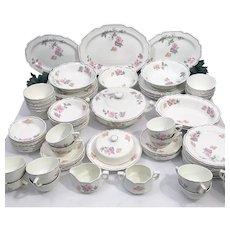 New hall porcelain history