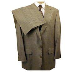 70s Corbin Glen Check Wool Suit