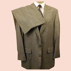 70s Corbin Glen Check Wool Suit