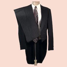 70's After Six Men's Formal Tuxedo Tails and Striped Pants