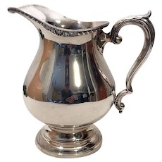 1800's Wallace Silverplate Large Water Pitcher