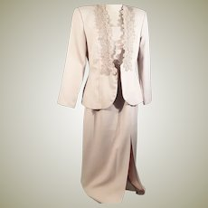 80's Mother of the Bride Dress Suit by Cachet