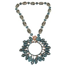 Large Miriam Haskell Beaded Necklace