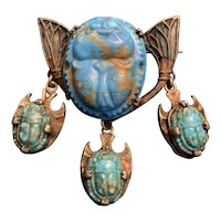 Early Egyptian Revival Brooch