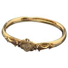 Victorian Gold Filled Bangle