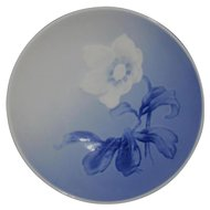 Small Blue/White Floral Pin Dish, Bing & Grondahl, Denmark