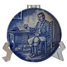 Enoch Wedgwood Huntsman Character Plate, Tunstall, Staffordshire